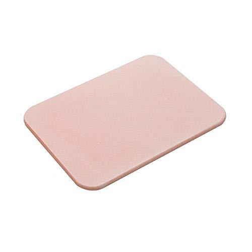 GUO-YANGH Sichere und hygienische Küchenmatte, schnelltrocknende Babymatte für das Haushaltsbad, pink in verschiedenen Größen-Pink_30 *...