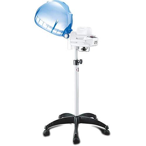 Barra de barberos LED, evaporador de pie y vaporizador de 650 W, procesador de Color de Cabello Profesional, Placa aceleradora, Calentador, peluquería, peluquería en el hogar, Capucha Ajustable c