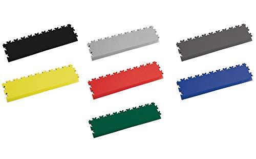 Fortelock PVC-Vinylfliese Abschluss/Auffahrrampe 2025 Leder (Graphit)