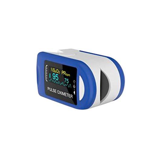 YYMQ Pulsómetro Digital Oxímetro de Pulso Pulsioxímetro de Dedo con Pantalla LED, Monitor de Frecuencia Cardíaca y Medidor de Oxígeno en Sangre para Hogar y Profesional, Adultos y Niños, Uso Deportivo