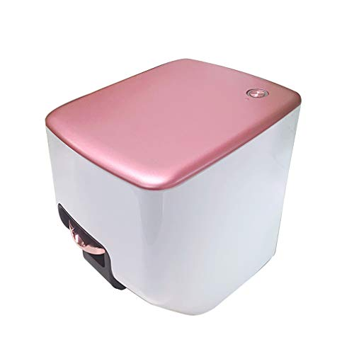 ZKHD Multifunction Portable Nail Art Printer 3D Nail Art Printer Automatic Nail Printer, for Nail Salon, Home(Pink)