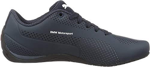Puma BMW MS Drift Cat 5 Ultra, Unisex-Erwachsene Sneakers, Blau (Team Blue-puma White-high Risk red 01), 42.5 EU (8.5 Erwachsene UK)
