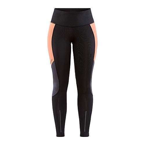 Craft ADV Essence Women's Warm Tights, Fall & Winter Tights for Running, Walking, Hiking & Cycling, Performance Sportswear