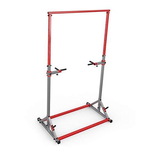 K-Sport Verstellbarer Power-Tower – Multifunktions-Klimmzugstation für Krafttraining – Dip-Stand Workout Fitness Bar – Liegestütz-Ausrüstung für Zuhause