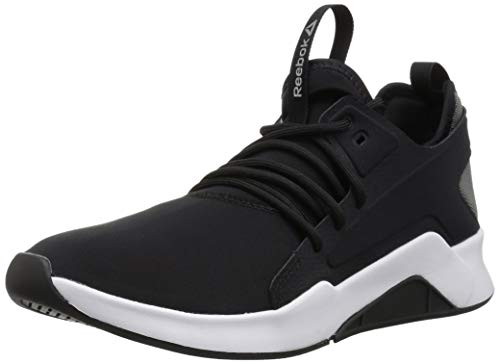 Reebok Women's GURESU 2.0 Dance Shoe, Black/White, 11 M US