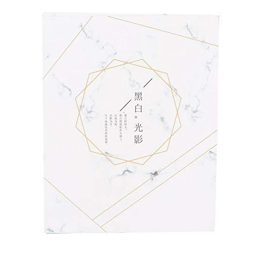 Nagelabziehbilder-Aufbewahrungsalbum Professionelles Nagelabziehbild-Album für Salon für Heimwerker für den Heimgebrauch(Aufbewahrungsbuch für Marmoraufkleber)