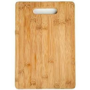 Bamfan Cutting Board Bamboo for Kitchen Serving Fruit and Cheese Utensil Accessories