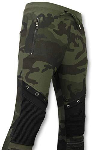 Camouflage Broek - Casual Joggingbroek - Camouflage Biker - Khaki