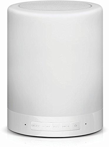 CONCEPTRONIC Altavoz Bluetooth con LUZ LAMPARA 1.6W