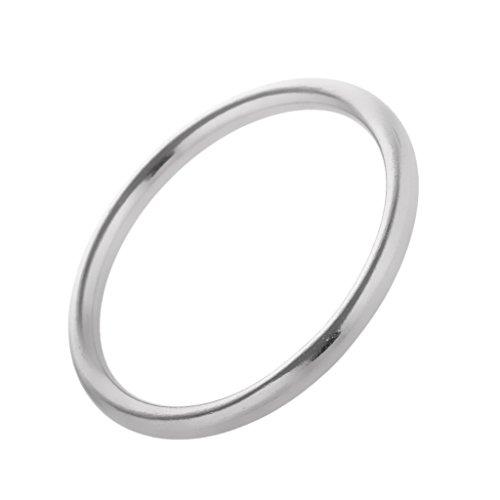 Edelstahlring O-Ring, poliert, hochwertig 304 Edelstahl Rundringe - 4 * 30mm