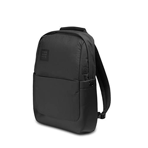 Moleskine ID Collection Zaino Porta PC, Device Backpack per Laptop, Tablet e iPad fino a 13'', Dimensioni 32 x 15.2 x 44 cm, Nero