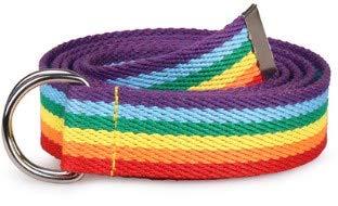 OIUYT La Venta del Nuevo Arco Iris de Moda exquisitos Colores de cinturón for la Mujer Señora Bastante Lona Flaca Fina de la Correa de Cintura Accesorio del Vestido