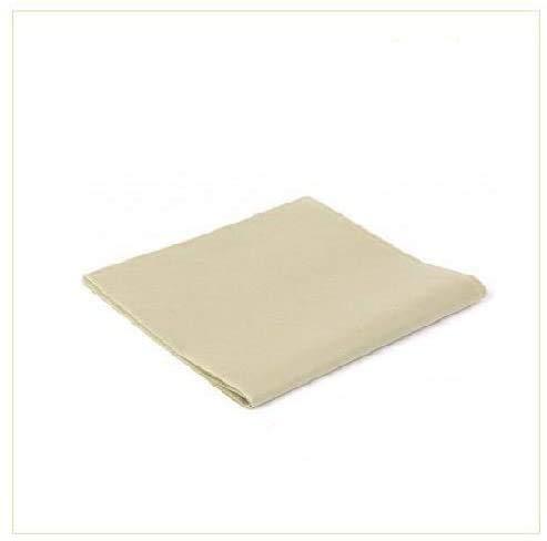 Virsus 100 Tovaglie in TNT Tessuto Non Tessuto Misura 100x100cm Ideali per la ristorazione vari colori (Avorio)