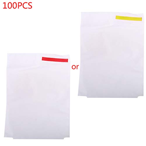 MiK 100x Garden Vegetable Grapes Apples Fruit Mesh Protection Bags Pouch Against Insect Pest Control Anti-Bird