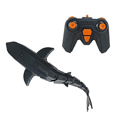 Accessorio per pezzi di ricambio RC Mini 2.4G RC Shark Boat Toys, compatibile con la figura di squalo di simulazione elettrica RTR compatibile con il giocattolo per bambini del bambino dell'ornamento