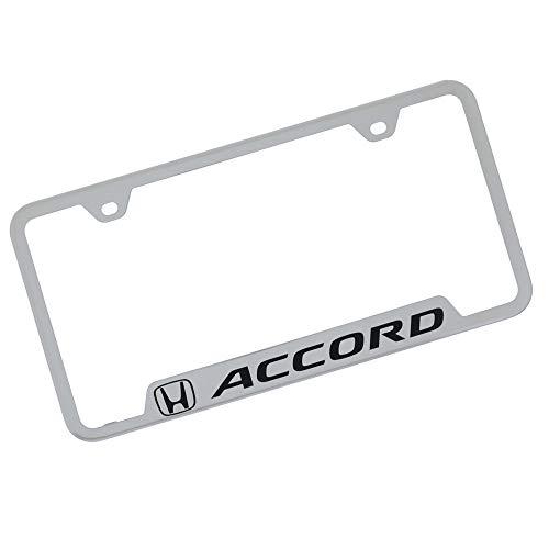 Honda Accord Chrome Stainless Steel License Plate Frame
