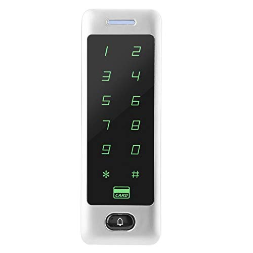 Nuevo diseño de apariencia de metal Contraseña resistente a los arañazos Control de acceso a la puerta Controlador de acceso Lector Controlador de acceso táctil, Oficina