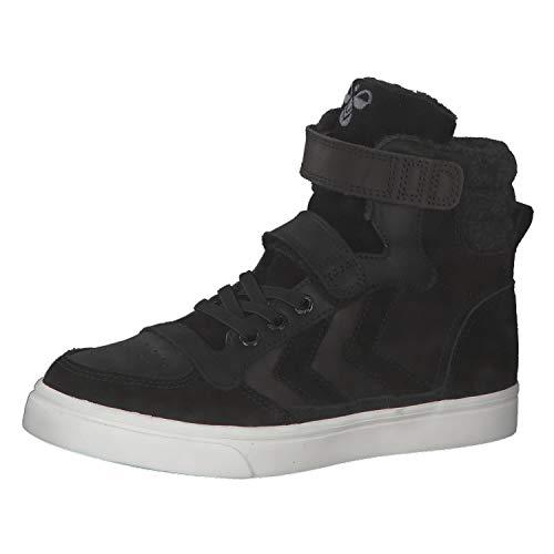 hummel Kinder Sneaker Stadil Winter Jr. 206840, Schwarz, 30 EU