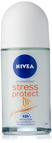 NIVEA Stress Protect Roll On Anti-Perspirant Deodorant, 50ml