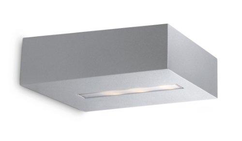 Philips Ledino LED-Wandleuchte Metics 1-flammig dimmbar 6,5 W, aluminium lackiert 332714816