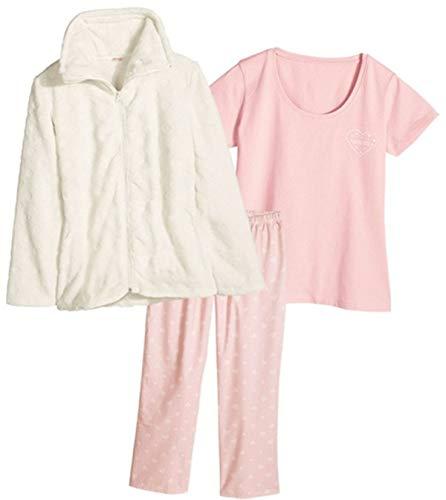 Esmara Pyjama- Set (44/46, beige Jacke)