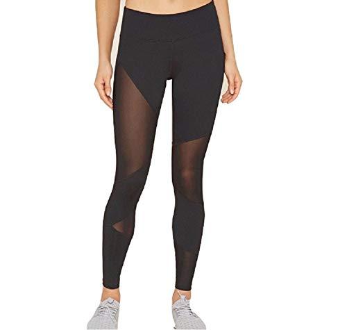 Ducomi LIV Leggins Transparentes para Mujeres - Looks Sexy y Casual en Gimnasia y Ropa Exterior - Leggings Ligeros, Transpirables y de Máxima Comodidad - Ropa Deportiva, Yoga, Pilates (M)
