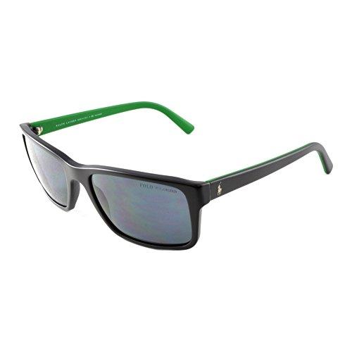 Polo Ralph Lauren heren PH4076 zonnebril, zwart (black 543481), één maat (fabrikantmaat: 57)