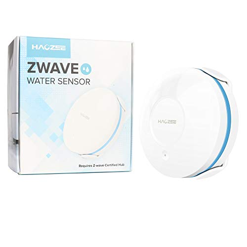 Haozee Zwave Plus Water Leak Sensor,Smart Flood Detector with Remote Probe Water Resistant¡­