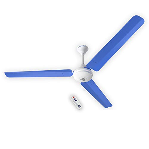 Superfan Super V1 Blue 1400 mm Ceiling Fan with Remote Control and BLDC Motor