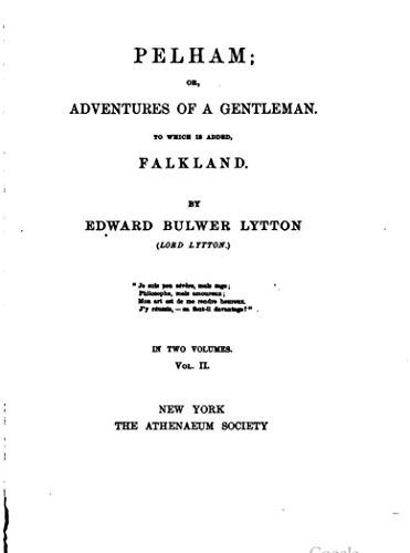 Pelham (English Edition)