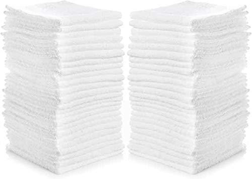 SimpliMagic Linens 12quotx12quot Premium Washcloths White