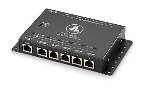 JL AUDIO VXI-HUB Network Hub schakelcentrum voor meerdere VXI DSP versterkers