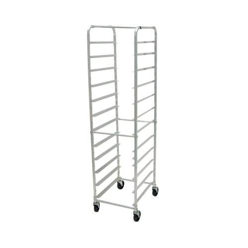 Advance Tabco Aluminum Knock Down Front Load Pan Rack, 20 1/4 x 26 x 69 1/4 inch Over All Size - 1 each.