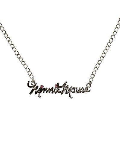 Disney - Collar con el Nombre Minnie Mouse