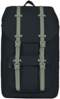 "Fyuanmeiibb Backpack, Student Correspond 15.6"" Laptop, LargeWaterproof Black Perfunctory Flip-top Book Bag, Anti Theft Tra..."
