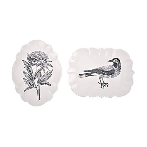 HandWerk Dekoration Keramik Teller Teller Creative Home Teller personalisierte Gerichte Zwei geladen