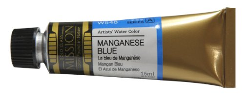 Mijello Mission Gold Water Color, 15ml, Manganese Blue