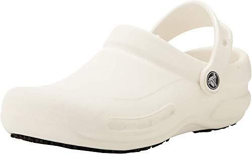 Crocs Unisex Bistro-Hausschuhe für Erwachsene, - White (White) - Größe: 41 EU