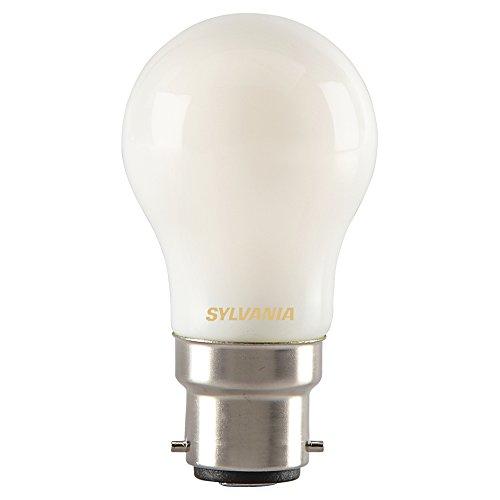 Sylvania 0027255 Toledo rétro Boule Lampe LED, verre, maison lumière, B22, 4 Watts