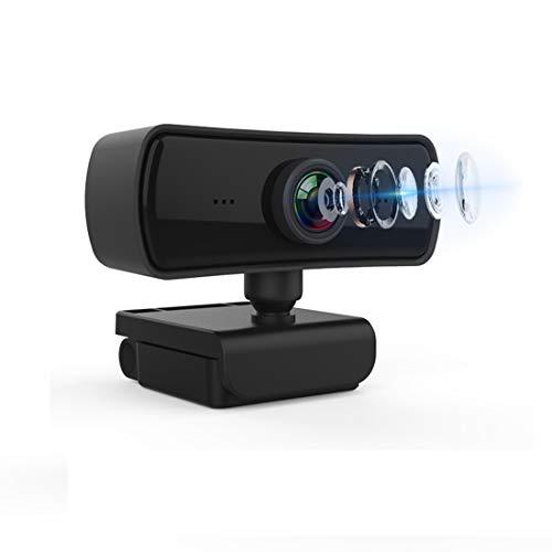 Webcam con micrófono para PC y portátil, 2K USB cámara web con corrección de luz automática y micrófonos duales, Plug and Play, adecuado para streaming/juegos/videoconferencias y zoom/YouTube