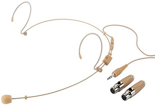 Monacor HSE-152A/SK Headset-Mikrofon