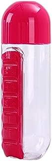 Best Quality 600 Ml My Water Bottle Sport Combination Daily Pill Box Organizer, Pill Bottle Organizer - Bottle Black, Medical Box, Pill Bottle, Back Pack in Electronics, Safe Bottle, Oz Kettle