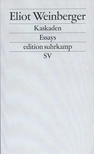 Kaskaden: Essays (edition suhrkamp)