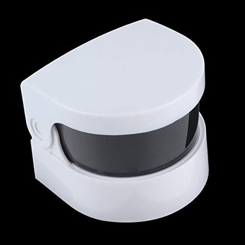 FYstar Mini-Ultraschallreiniger, kabellos, für Prothesen, Ringe, Schmuck, professionelle Reinigung und persönliche Nutzung (weiß)