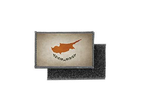 Aufnäher patch aufbügler vintage gedruckt flagge fahne zypern