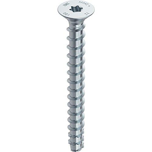 plateado 48391 Heco mms Plus Hexagonal Tornillo Multi de Monti Tornillos de anclaje con disco