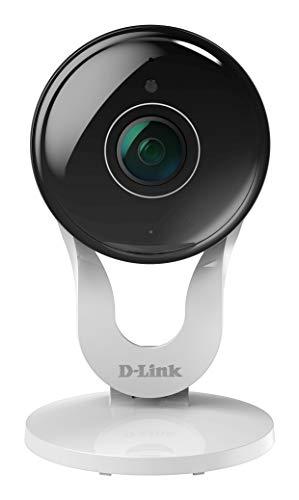 D-Link DCS-8300LH mydlink Full HD Wi-Fi Überwachungskamera (Alexa, Google und IFTTT kompatibel, 137 Grad Blickwinkel, Nachtsichtfunktion, Bewegungs- und Geräuscherkennung, Fern-Zugriff per App)