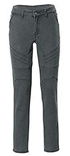 RICK CARDONA Jeans Damen Röhrenjeans Kurzgröße - Khaki Gr. 18