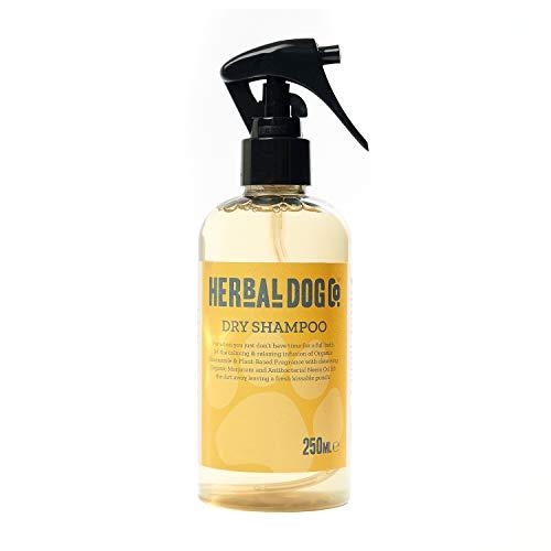 Baby Powder | Natural Dry Shampoo| Dog & Puppy | Waterless Formula | Handy & Convenient | 250ml | Safe & Mild | Hypoallergenic | PH Balanced