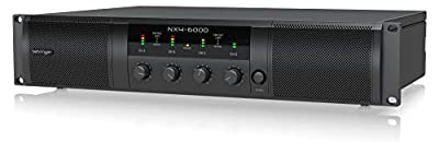 Behringer Power Amplifier (NX4-6000) by MUSIC Group